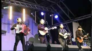 download lagu The High Kings - Dirty Old Town Trafalgar Square gratis