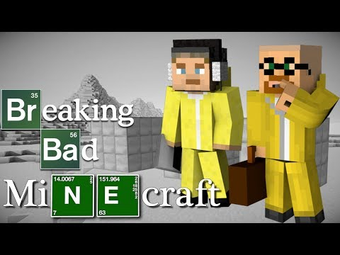 Minecraft: BREAKING BAD! (Mod showcase & Machinima)