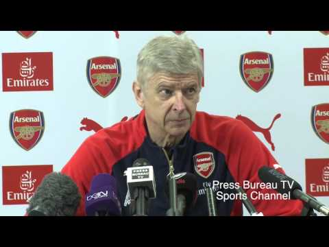 Arsene Wenger pre Arsenal vs Norwich