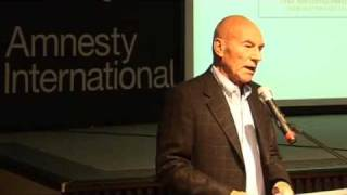 Patrick Stewart on violence against women