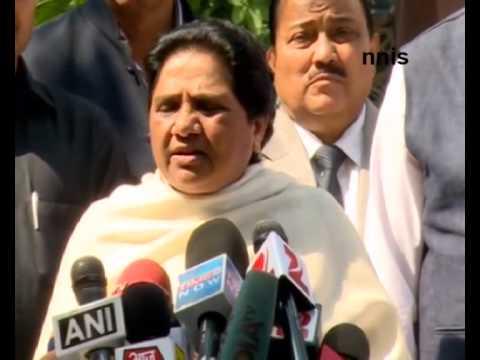 Minorities Not Feeling Safe With NDA Govt – Mayawati