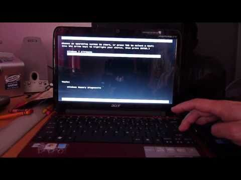 Dual Boot Windows 7 & Snow Leopard 10.6.3 On Acer Aspire One AO751H