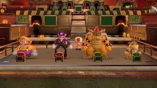 Super Mario Party Partner Party #331 Gold Rush Mine Wario & Waluigi vs Bowser & Bowser Jr