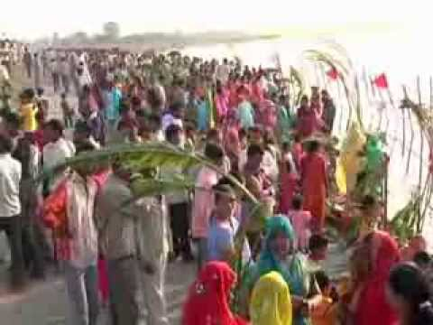 Chhath Puja begins as many take a holy dip