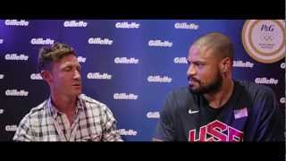 Olympics or Bust London 9: Tyson Chandler And Gillette @P&G Family Home