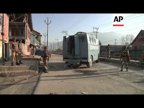 Two suspected rebel fighters killed after 20-hour gun battle in Indian-controlled Kashmir