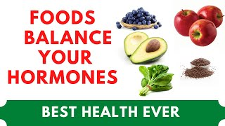 Top 10 super foods can help balance your hormones and reduce inflammation