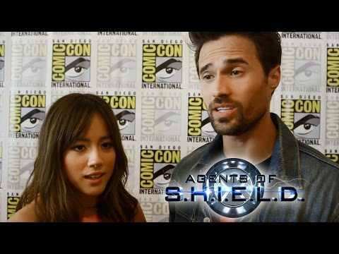 SHIELD'S Brett Dalton Talks Agent Ward's Betrayal - Comic Con 2014