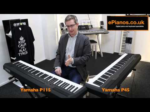 Yamaha P45 v P115 Comparison - What piano should I buy?