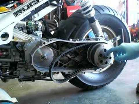 Honda Ruckus Variator Installation