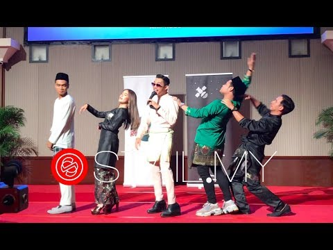 Download Hael Husaini - Bersyukur Seadanya  LIVE  ft. Ernie Zakri, Syamel, Sufi, Usop Mp4 baru