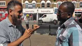 'Live' Dawah –  In only few minutes Michael becomes Muslim after a long search (Part 2/2)