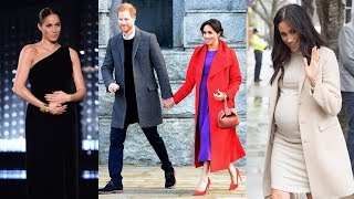 These Pictures Of Pregnant Meghan Markle Have Got People Talking About Her Beautiful P.opped Belly