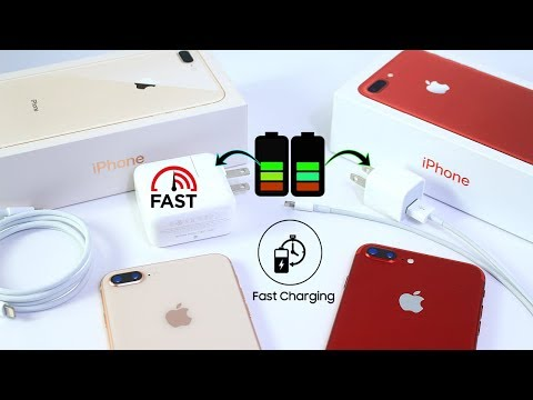 How Much Faster is Fast Charging on iPhone 8 ?