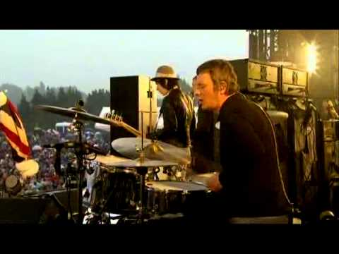 Beady Eye at Isle Of Wight 2011.