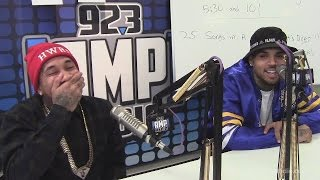 Chris Brown & Tyga Make a Prank Call at 92.3 AMP Radio