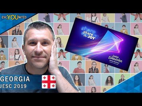Giorgi Rostiashvili - We Need Love - Georgia | Junior Eurovision 2019 - REACTION