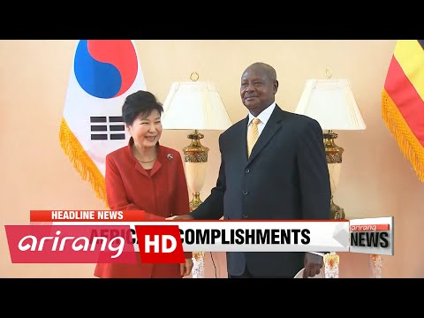 EARLY EDITION 18:00 President Park's Africa trip bears fruit in business, nuclear diplomacy