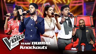 Team Dumal | Knockouts | The Voice Teens Sri Lanka