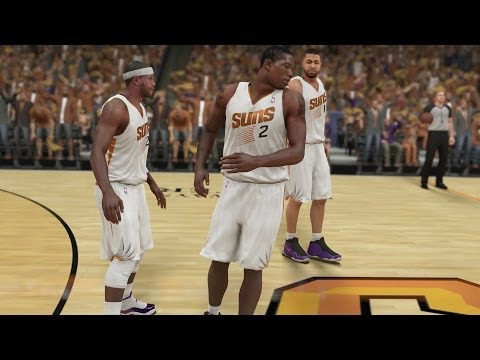 NBA 2K14 PS4 My Career Playoffs QFG1 - Playoff Debut