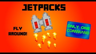 Minecraft Jetpacks [Vanilla Only One Command]