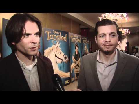 Tangled UK Premiere Interviews