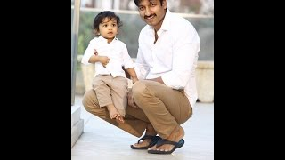 Hero GopiChand With His Cute Lovely Family Video