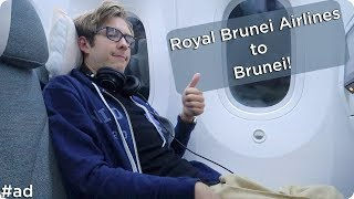 Flying to Brunei with Royal Brunei Airlines! | Evan Edinger Travel #ad