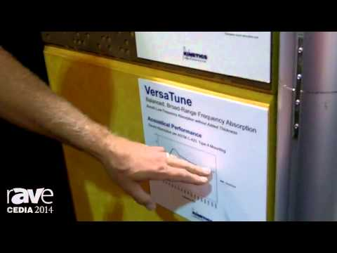 CEDIA 2014: Kinetics Noise Control Shows TAD, VersaTune Acoustical Panels With Engineered Materials