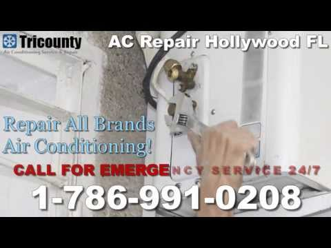 AC Repair Hollywood, FL - 1-786-991-0208 - AC Service Repair Hollywood Florida