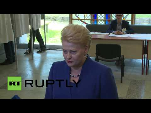 Lithuania: Gribauskaite heads to the polls in Vilnius