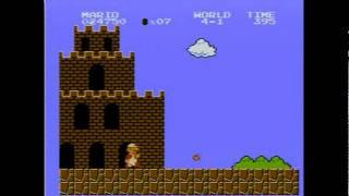 Super Mario Bros. - NES - 1UP mushroom locations