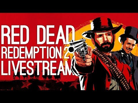 Red Dead Redemption 2 Live! THE ROAD TO 100%!