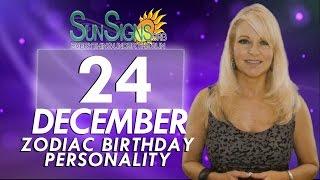 Facts & Trivia - Zodiac Sign Capricorn December 24th Birthday Horoscope