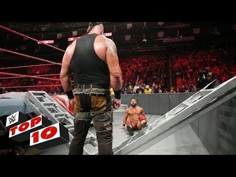 Top 10 Raw moments: WWE Top 10, June 4, 2018 thumbnail