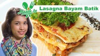 Lasagna Bayam Batik Feat Puti Safira