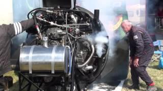 Curtiss-Wright R-3350 32-WA, 18 Cylinder Radial Engine (Sternmotor), second start