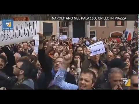 Napolitano nel palazzo_estratto Piazzapulita 23 aprile 2013