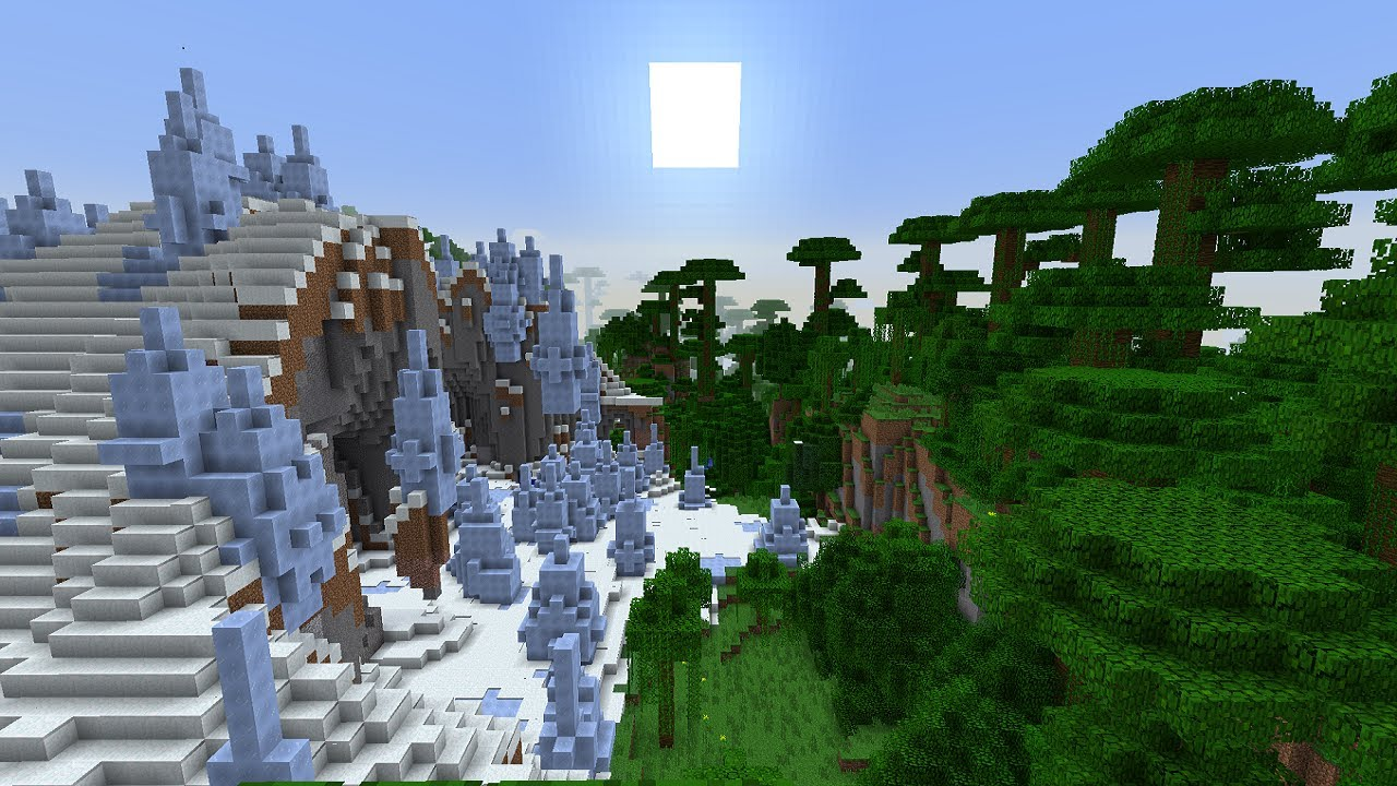 Minecraft 1.7 Biomes Mesa Biome Minecraft Seed 1.8