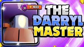 The Darryl MASTER! - He Pushed His Darryl To 1000+ Trophies! - Pro Gameplay + Tips! - Brawl Stars