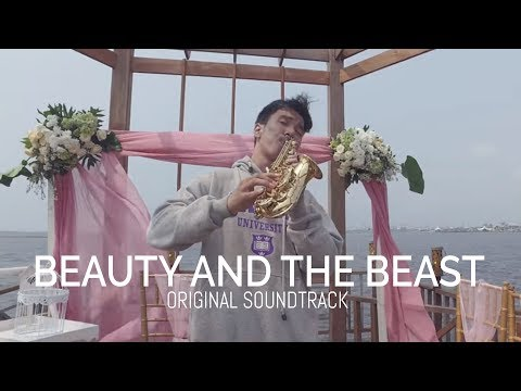 Beauty and The Beast - Baby Saxophone & Alto Saxophone Cover by Desmond Amos [ 4K Audio ]