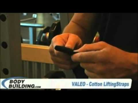 0 Valeo Cotton Lifting Straps