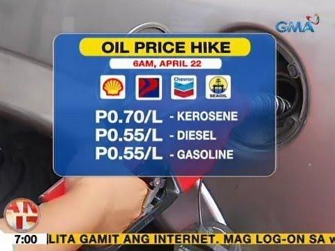UB: Ilang kumpanya ng langis, nagpatupad ng oil price hike ngayong umaga