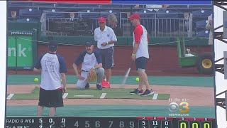 PAL Hosts 40th Annual Celebrity Softball Game At Citizen's Bank Park