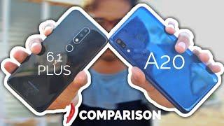 Nokia 6.1 Plus V/S Samsung Galaxy  A20 Full Comparison  In Hindi