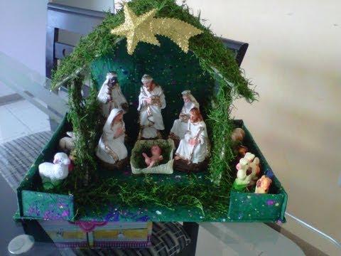 Haz tu propio nacimiento Navideño.!!