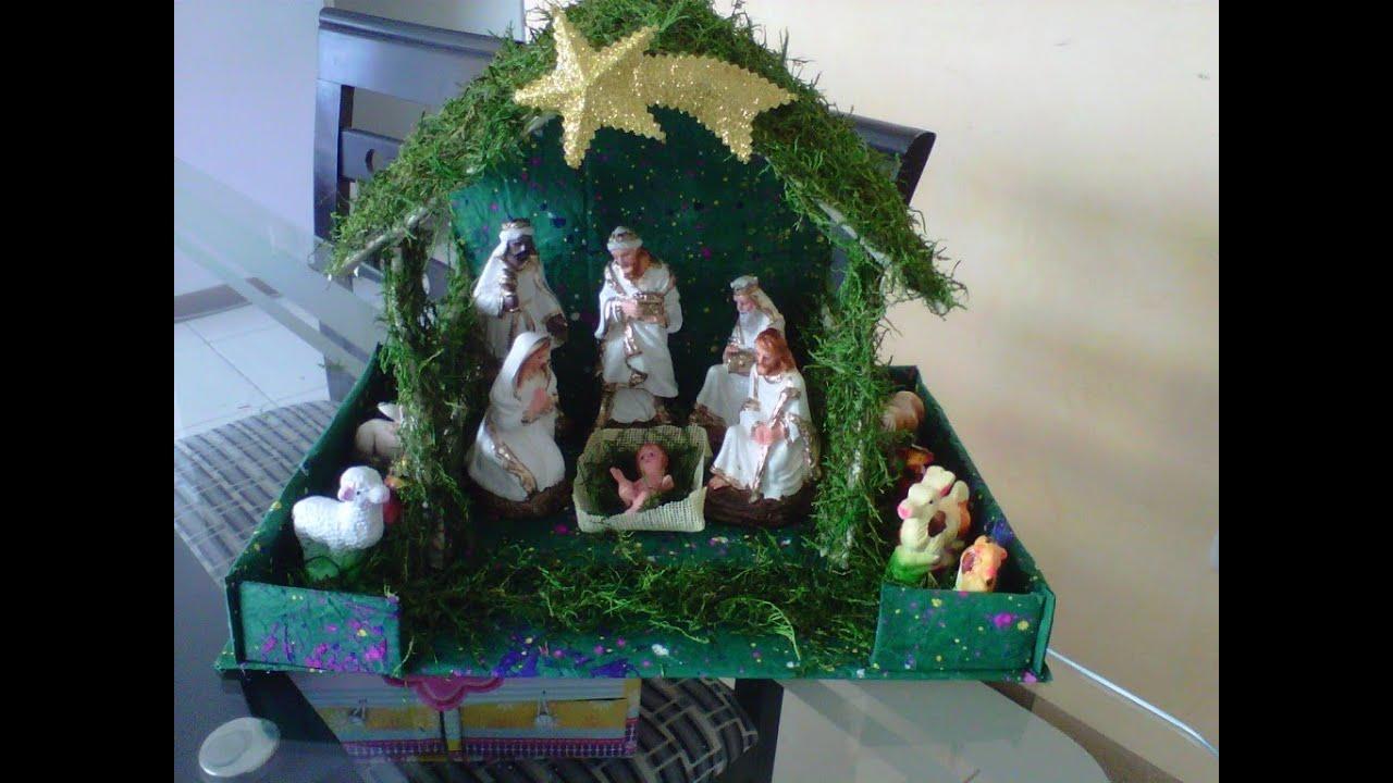 Haz tu propio nacimiento navide o youtube - Cosas de navidad para hacer en casa ...