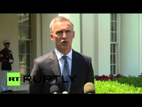 "USA: NATO Sec-General announces ""biggest collective defence since the Cold War"" on Washington visit"