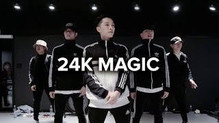Download Lagu 24K Magic - Bruno Mars / Junsun Yoo Choreography Gratis STAFABAND