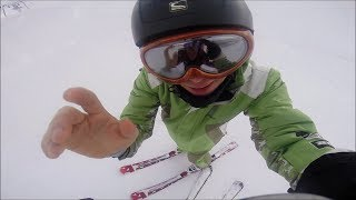 GoPro on snow